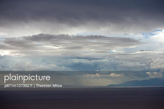 Thunderstorm at the Skeleton Coast, Namibia, Africa