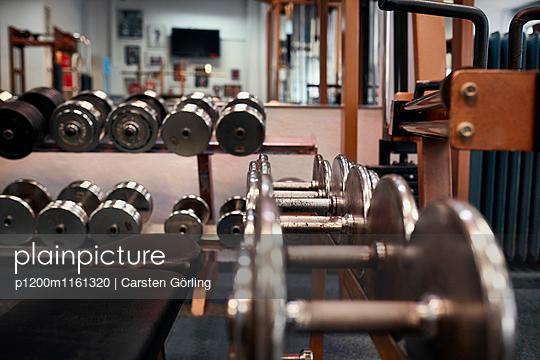 Bodybuiling-Studio - p1200m1161320 von Carsten Görling