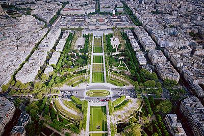 Champ-de-Mars from Eiffel Tower - p991m956259 by Metin Fejzula