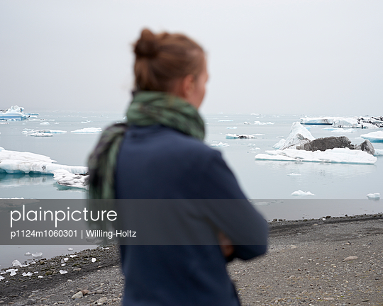 Glacier lagoon - p1124m1060301 by Willing-Holtz