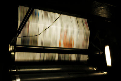 Printing press - p9770054 by Sandrine Pic