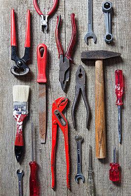 Rotes Werkzeug - p4540950 von Lubitz + Dorner
