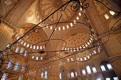 Blaue Moschee - p1205m1032932 von Benoit Pesle