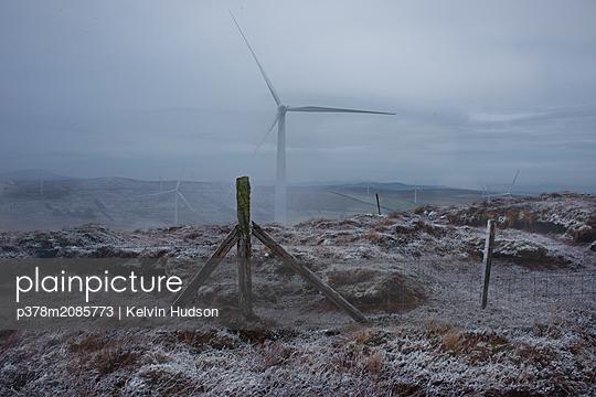 Snowy Turbine - p378m2085773 by Kelvin Hudson