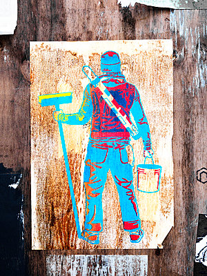 Stencil - p1280m1516382 von Dave Wall