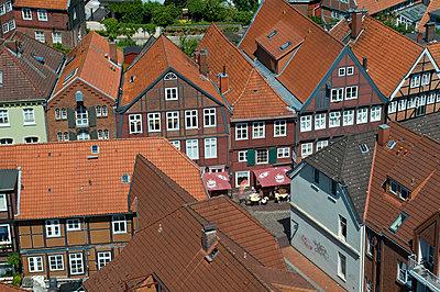 Stade Altstadt - p324m883388 von Bildagentur Hamburg