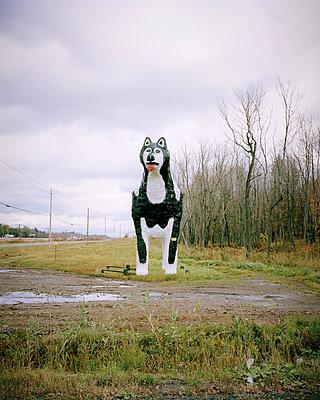 Riesige Hundefigur - p1124m1015420 von Willing-Holtz