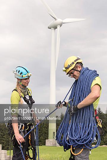 Vorbereitung zum Aufstieg - p1079m1185007 von Ulrich Mertens