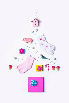 Christmas tree - p1149m2039193 by Yvonne Röder