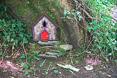 Fairy shelter in Ireland - p162m1223125 by Beate Bussenius