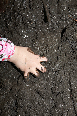 Hand in mud - p4060500 by clack