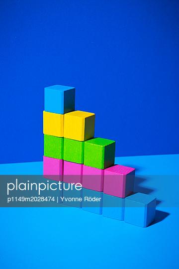 Toy blocks - p1149m2028474 by Yvonne Röder