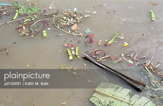 Angesammeltes Regenwasser - p2120051 von Edith M. Balk