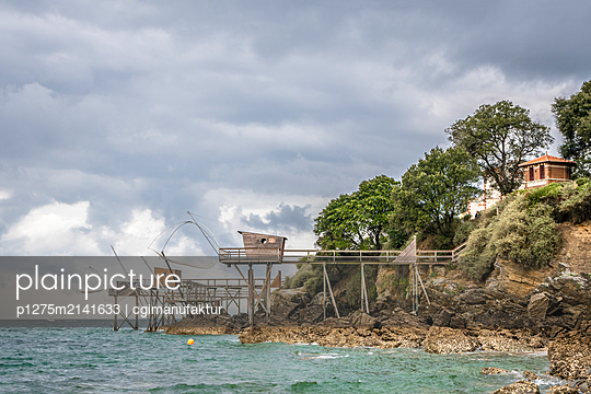 Fischerhütte an der Atlantikküste - p1275m2141633 von cgimanufaktur
