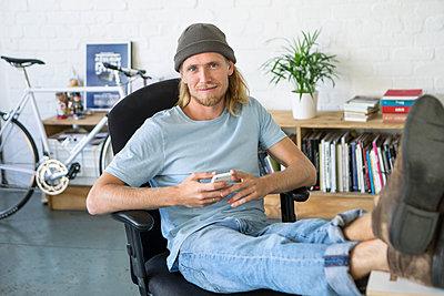 Mann/ Business/ Start up /Entwickler - p1156m1572838 von miep