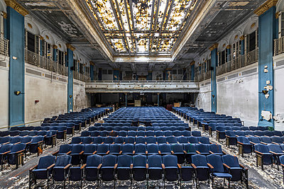Abandoned Auditorium  - p1440m1497526 by terence abela