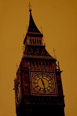 Big Ben, London - p1028m2052807 von Jean Marmeisse