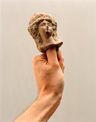 Antike Fingerpuppe - p8730007 von Philip Provily
