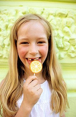 Zitronenlolli - p0451500 von Jasmin Sander