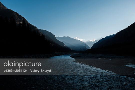 Fluss im Kaukasus - p1363m2054124 von Valery Skurydin