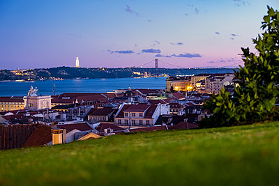 View of Lisbon - p335m2177653 by Andreas Körner