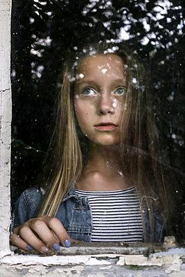 Window Fear - p1019m1480922 by Stephen Carroll