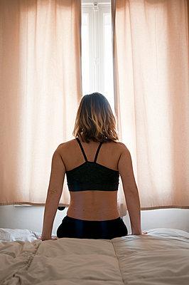 Back self portrait - p951m2181674 by Caterina Sansone