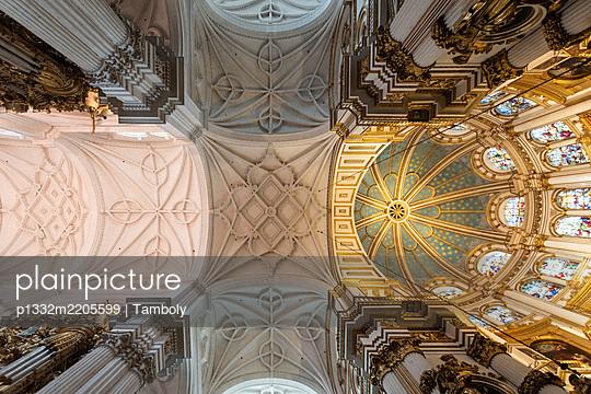 Spanien, Zimmerdecke, Kathedrale von Granada - p1332m2205599 von Tamboly