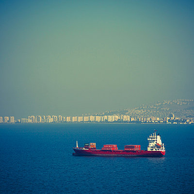 Containership near Izmir - p1062m871864 by Viviana Falcomer