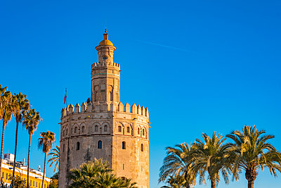 Golden tower, Torre del Oro, Sevilla - p1332m2203272 by Tamboly