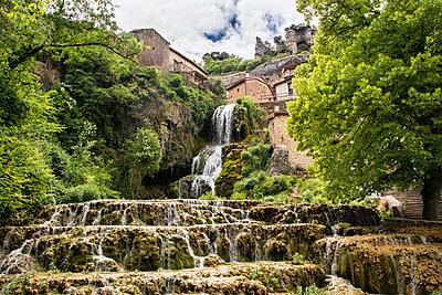 Orbaneja del castillo waterfall - p1691m2288622 by Roberto Berdini Bokeh