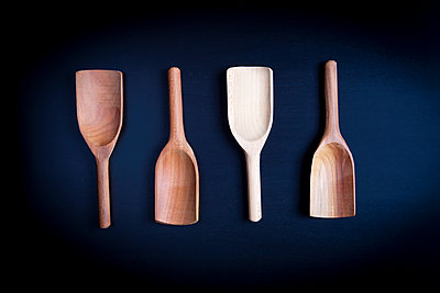 Wooden spoons - p1149m2263062 by Yvonne Röder