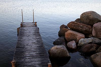 Kleiner Steg - p972m1333464 von Björn Keller