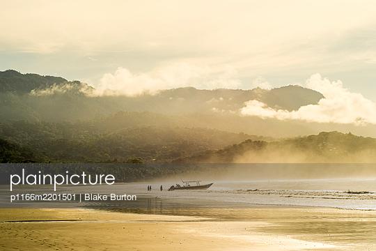 Sandy coastal beach of Marino Ballena National Park, Uvita, CostaRica - p1166m2201501 by Blake Burton
