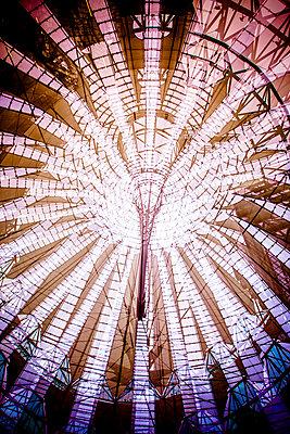 The roof of the Sony Centre at Potsdamer Platz, Berlin, Germany   - p1062m1172178 by Viviana Falcomer
