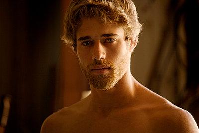 Portrait of a young man - p1166m968083f by Cavan Images