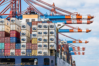 Containerfracht - p488m2288086 von Bias