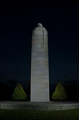 War memorial, Belgium, Langemark-Poelkapelle - p1132m1032472 by Mischa Keijser