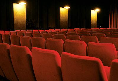 Theatre seats - p2872013 by Ralf Mohr