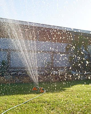 Lawn Sprinkler - p1124m1104353 by Willing-Holtz