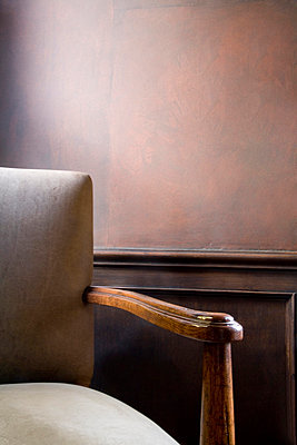 Leather Armchair - p5550596f by LOOK Photography