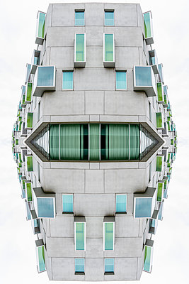 Abstract Architecture Kaleidoscope Cologne - p401m2216420 by Frank Baquet