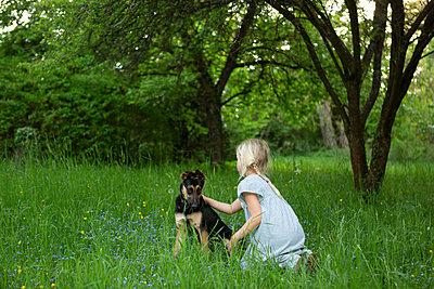 Petting affectionately  - p454m2200603 by Lubitz + Dorner