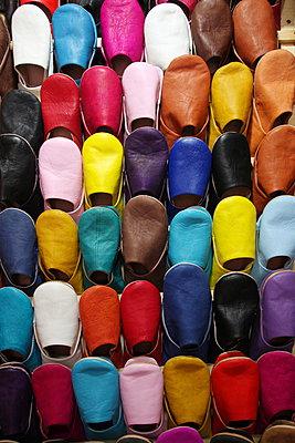 Schuhe, Marokko - p865m889782 von atomara