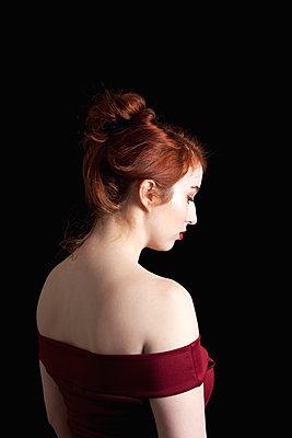 Redhead Portrait - p1248m1550477 by miguel sobreira