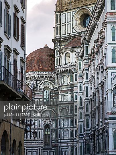 Dome of Florence Cathedral; Florence, Toscana, Italy - p442m1147897 by Keith Levit