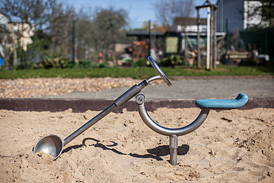 Spielbagger - p1291m1465564 von Marcus Bastel