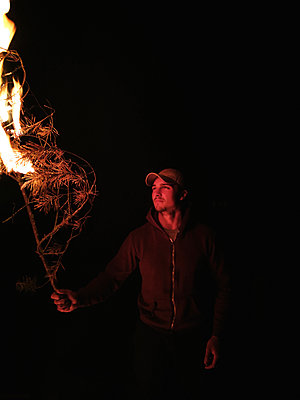 Feuer - p551m1586309 von Kai Peters