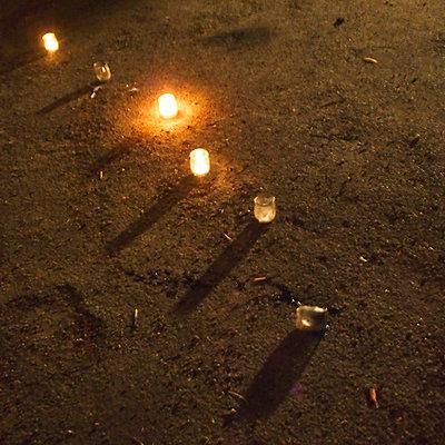 Kerzenlicht - p9270009 von Florence Delahaye