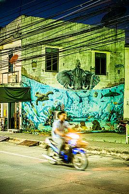 Biker - p680m1511667 by Stella Mai